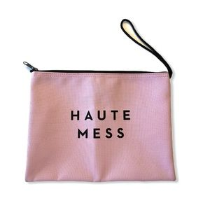 MILLY Haute Mess Zip Pouch Water Resistant Beach